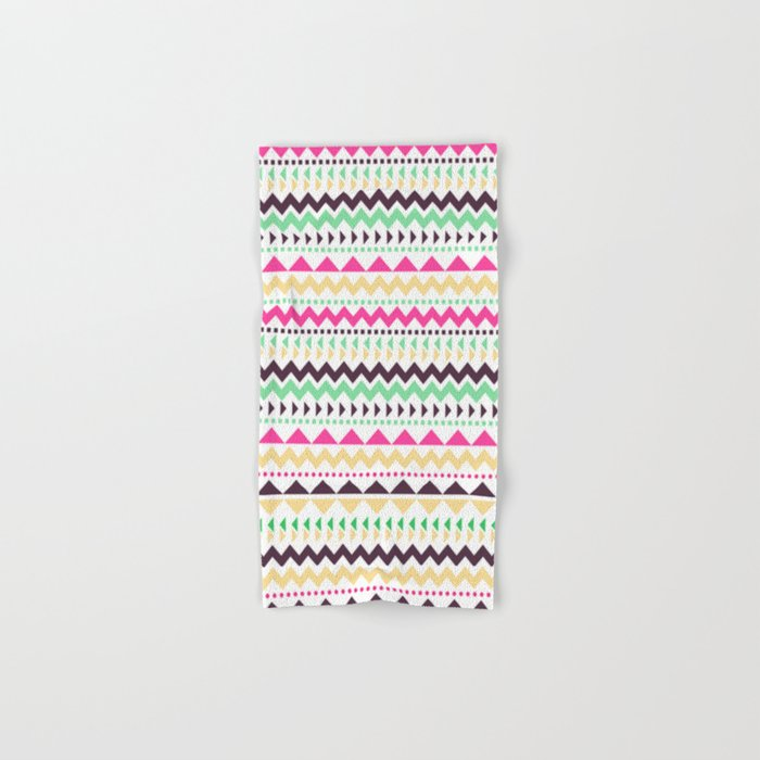Tribal Pattern 02 Hand & Bath Towel