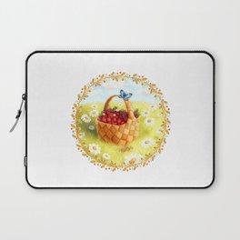 Basket with berries Laptop Sleeve