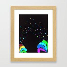 La Vida Es Un Carnaval Framed Art Print