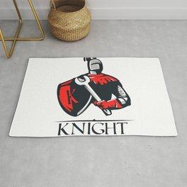 Cartoon plumber Knight Rug