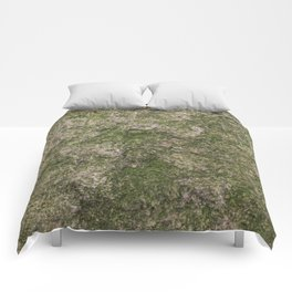 Stone and moss Comforters