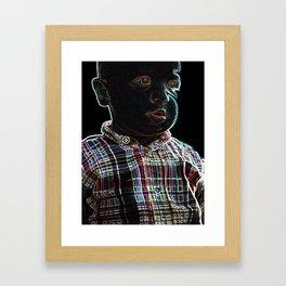 Acid Baby Framed Art Print