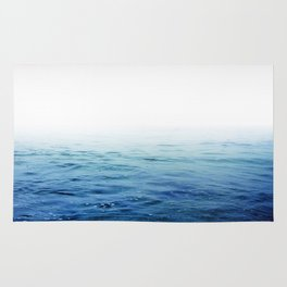 Calm Blue Ocean Rug