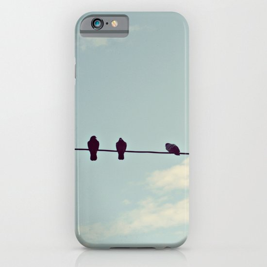 Birds on wire iPhone & iPod Case
