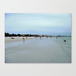 Find Me At The Beach! Canvas Print