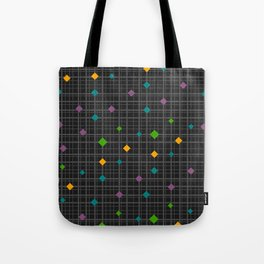 Networks with bright shapes Tote Bag
