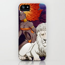 Aziza iPhone Case