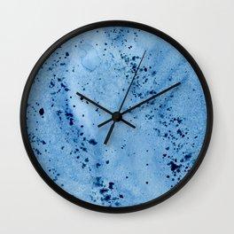 Nautilius Watercolor Texture Wall Clock