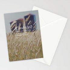 n. WAN-DER-LUST. Stationery Cards