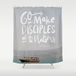 The Great Commission Bible Institute Print - 2 Shower Curtain