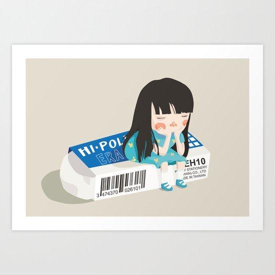 What now? Art Print