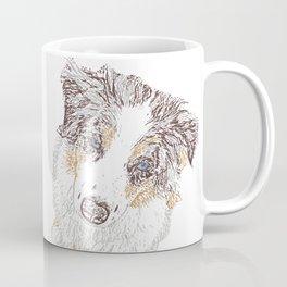 Red Merle Coffee Mug
