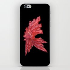 Red Glass Abstract iPhone & iPod Skin