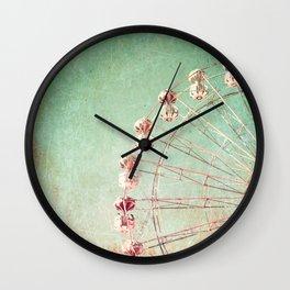 Ferris Wheel Wall Clock