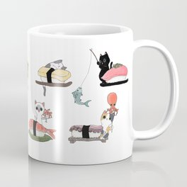 The Sushi Wheel Coffee Mug