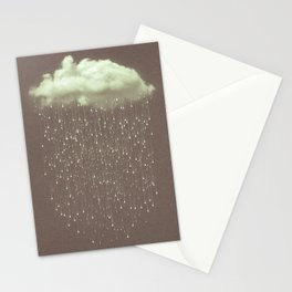 Let It Fall IV Stationery Cards
