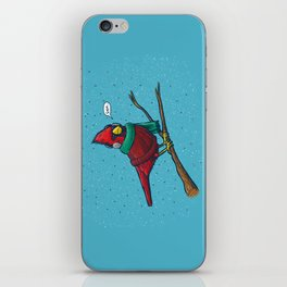 Annoyed IL Birds: The Cardinal iPhone Skin