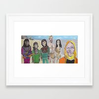 planet of the apes Framed Art Prints featuring Planet of the Apes by Robert E. Richards