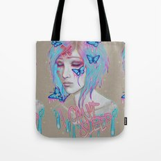 I Can't Sleep Tote Bag