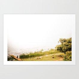 Myanmar – Life on the Lake Art Print