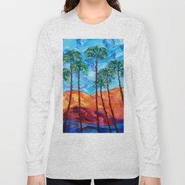 California Palm Trees Long Sleeve T-shirt