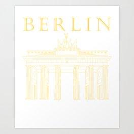 Berlin - Brandenburg Gate Art Print