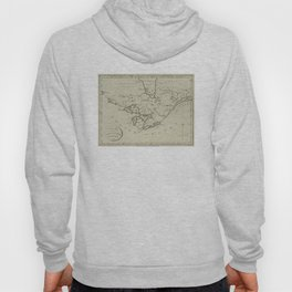 Vintage Map of The Great Lakes (1794) Hoody