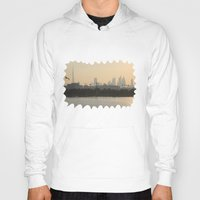 wiz khalifa Hoodies featuring Dubai Skyline by Rebecca Bear
