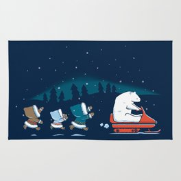 Grand Theft Arctic Rug