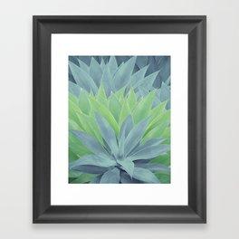 Agave Ocean Dream #1 #tropical #decor #art #society6 Framed Art Print