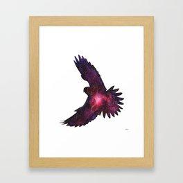 Space Kestrel Framed Art Print