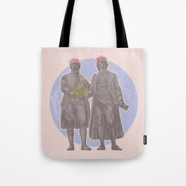 Poets and Thinkers and Flowers Tote Bag
