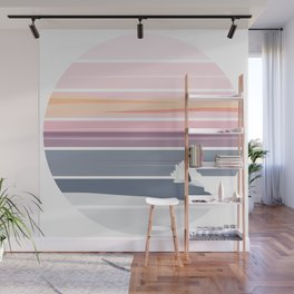 Sunset Surf Wall Mural