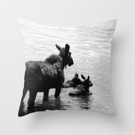 A Protective Mom Throw Pillow