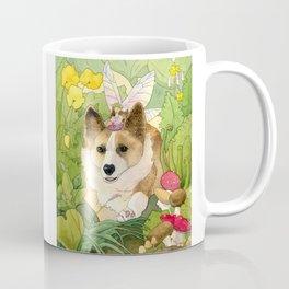 The Faerie and the Welsh Corgi Coffee Mug