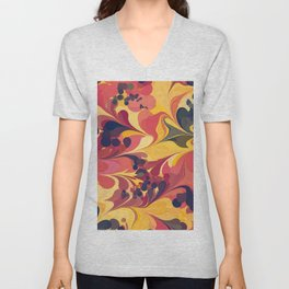 Flowers in the Wind 1 Unisex V-Neck