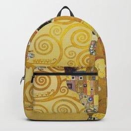 The Embrace - Gustav Klimt Backpack