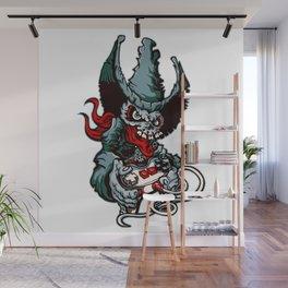 Gamer Skull -  Bermuda Grey Wall Mural