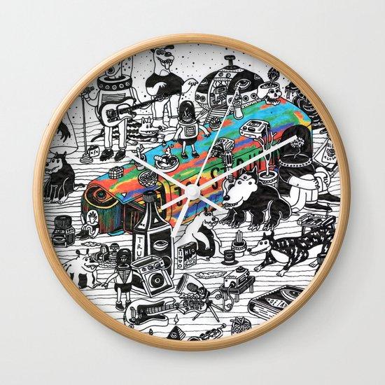 GLOBAL A GO-GO Wall Clock