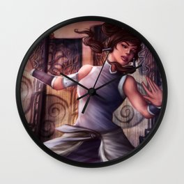 Light on Your Feet Wall Clock