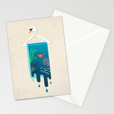 Swan Hanger Stationery Cards