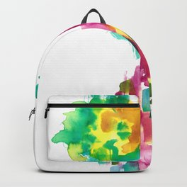 180802 Beautiful Rejection 15   Colorful Abstract Backpack