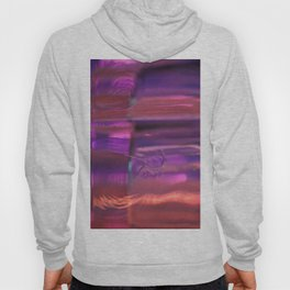 Purple, Orange and Red Abstract Hoody