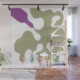 Pouring Wine white Wall Mural