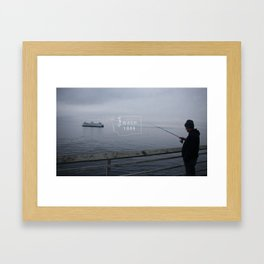 Washington State Framed Art Print