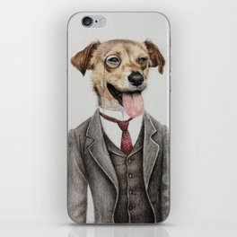 Mr. dog iPhone Skin