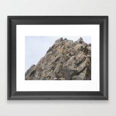 Geology Rocks. Framed Art Print