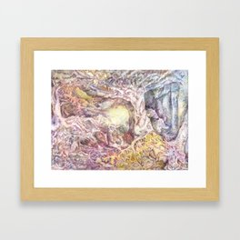 Enchanted Land Framed Art Print