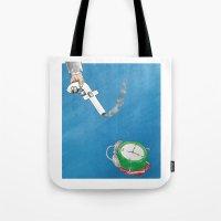 facebook Tote Bags featuring Facebook  by gunberk