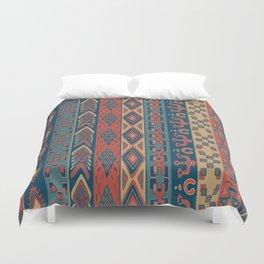 Navajo Geometric Pattern Duvet Cover